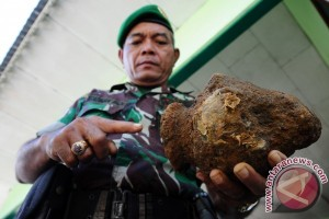 Anggota KPU Pontianak Temukan Mortir
