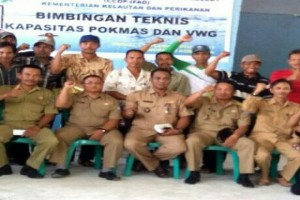 Nelayan Desa Teluk Pakedai Satu Dapat Bantuan Modal