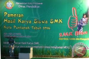 16 SMK se-Kota Pontianak Gelar Pameran