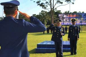 Lanud Singkawang II Gelar Upacara Hari Bhakti TNI AU