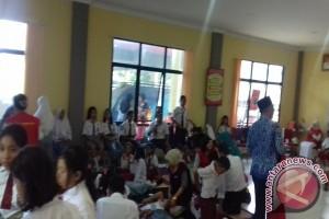 Puluhan Peserta Upacara Pingsan di Sanggau