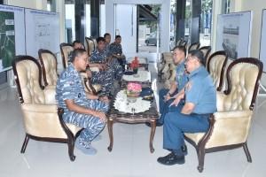 Kapusbintan TNI Kungjungi Lantamal XII Pontianak