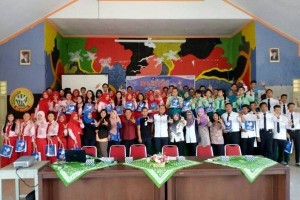 Jamkrindo Laksanakan Program BUMN Mengajar di Pontianak