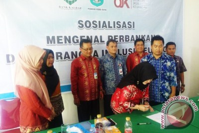 OJK-Bank Kalbar Sosialisasikan Inkluisi Keuangan
