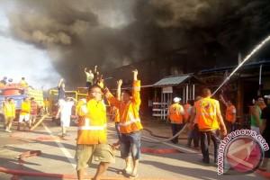 BPBD Pontianak: Dua Rumah Hangus Terbakar
