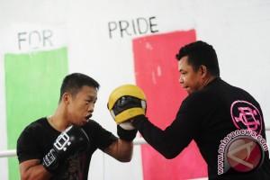 Petinju Sasana Daud Boxing Gelar Persiapan Tanding