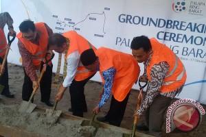 Menkominfo Melakukan Peletakan Batu Pertama Pembangunan Palapa Ring Barat