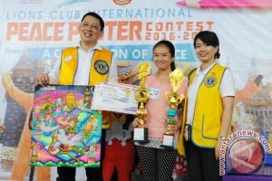 Carron Angel Juara PPC Lions Club Pontianak
