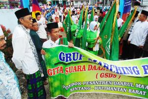 Ponpes Ushuluddin Singkawang Peringati Hari Santri Nasional