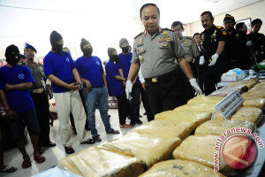 Pengedar narkoba perbatasan Indonesia-Malaysia berhasil ditangkap