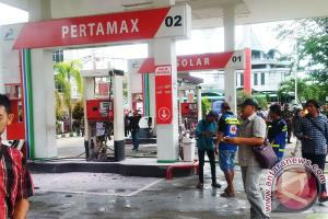 Polres Pontianak Sita Serpihan Ledakan-CCTV SPBU