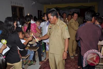 Bupati Sanggau : Natal, Jauhkan Diri Dari Kebencian