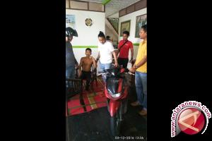 Curi Sepeda Motor, Polsek Timur Ciduk Seorang Warga Gang Amalia
