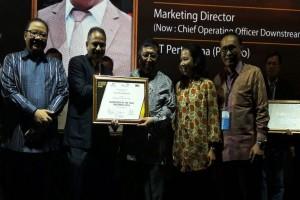 Direktur Pemasaran Pertamina Raih Award Best Of The Best Marketeer of The Year