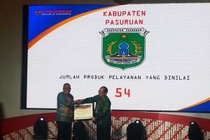 Kubu Raya Raih Penghargaan Ombudsman RI