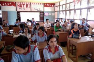 KPU Landak Sosialisasi ke Pemilih Pemula