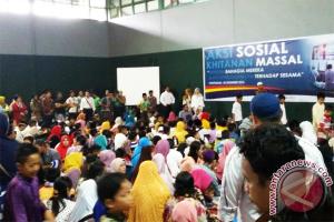 Laziz PLN Kalbar Bantu Khitan 540 Anak