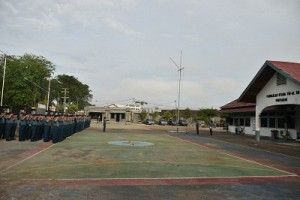 Lantamal Pontianak Apel HUT Korps Wanita TNI-AL Ke-54