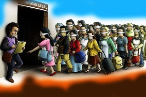 Mesir Hentikan 12 Orang Pindah Secara Ilegal