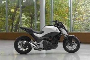 Honda Pamerkan Sepeda Motor  Self-Balancing