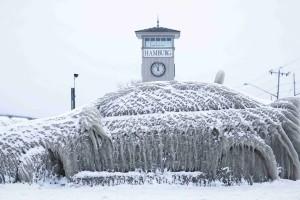 Salju Tebal Lumpuhkan Italia