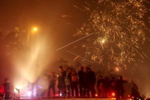Beijing Larang Pejabat Nyalakan Kembang Api