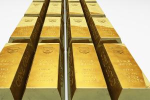 Harga emas turun tertekan penguatan ekuitas dan dolar AS