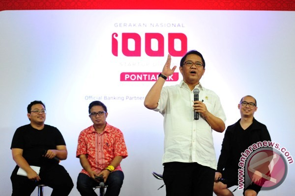 Pontianak lokasi Ignition Gerakan Nasional 1000 startup second wave
