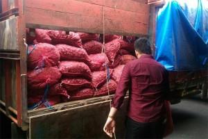Polsek Ledo Gagalkan Bawang Ilegal Asal Malaysia