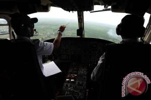 BPBD Kubu Raya Pantau Kebakaran Lahan Dengan Helikopter