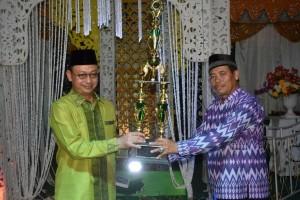 Kafilah Pontianak Kota Juara Umum STQ Ke-24
