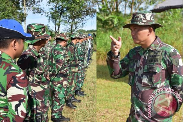 Perwira Lanud Supadio Pontianak tingkatkan kemampuan menembak