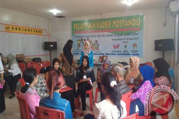 PT WHW Gelar Pelatihan Kader Posyandu