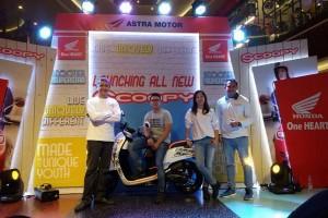 Astra Motor Targetkan Jual  All New Scoopy 500 Unit/Bulan