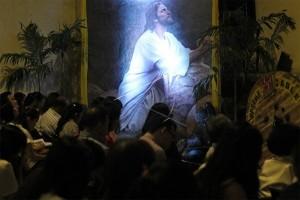 Perayaan Misa Kudus Tri Hari Suci Sekadau