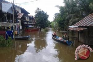 Banjir Rendam Ratusan Rumah di Tayan Hilir