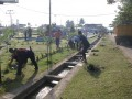 Bersih-bersih di Lanud Supadio