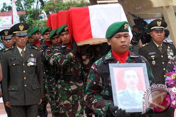Prajurit Korban Latihan PPRC Diterbangkan Ke Jakarta
