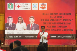 Bank Kalbar - PMI Gelar Donor Darah