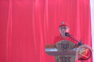 Bupati Hildi Hamid Buka Kegiatan Gotong Royong