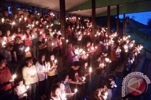 Seribu Lilin Kapuas Hulu Untuk Damai NKRI