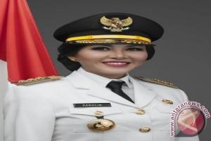Pilgub Kalbar - Karolin Belum Ketahui Calon Wakilnya