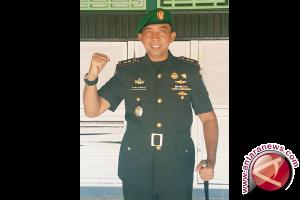 TNI Putussibau Latihan Tanggulangi Bencana Alam