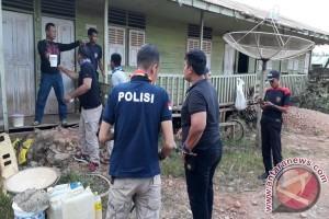 Polisi Simpang Hilir Gerebeg Produksi Miras