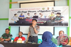 Pemdes Tayan Hilir Gelar Coffee Morning