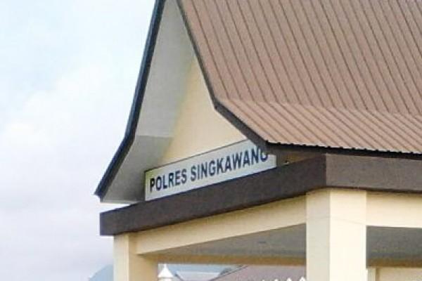 Polres Singkawang Amankan Kentang Dan Bawang Malaysia