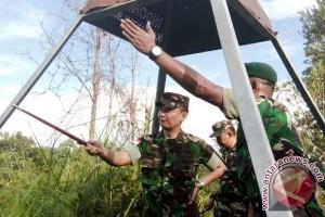 Belasan Patok Batas Indonesia - Malaysia Belum Ditemukan