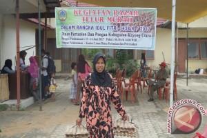 Bazar Telur di Kabupaten Kayong Utara