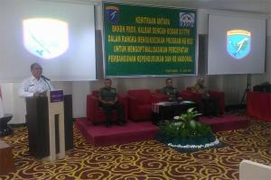 BkkbN-Kodam Tanjungpura Rakor Perkuat Program KB Kesehatan