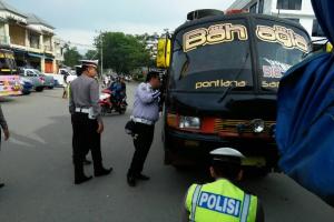 Polres Sambas Sinergikan Pengamanan Sambut Idul Fitri